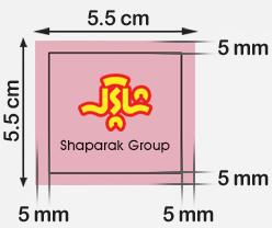 طراحی کارت ویزیت مربع