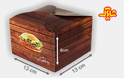 جعبه همبرگر شاپرک