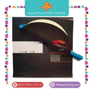 طراحی و چاپ انواع لیبل cd
