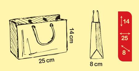 انواع ساک دستی کاغذی گلاسه